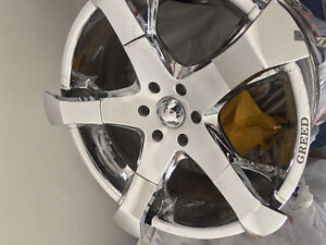 """22"""" Greed Wheels Hang Tyme x3. Very unique."""