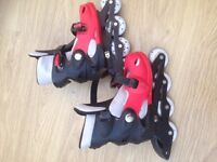 Adult Size 5-7 rollerblades