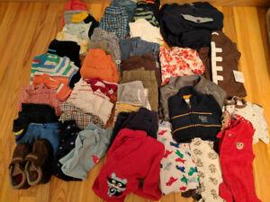 12-24 months boys clothes lot 2