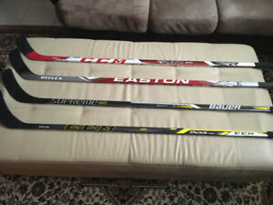 Hockey Sticks/Bâtons de hockey