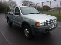 2000 Ford Ranger 2.5D 4x4 single Cab COMPLETE WITH M.O.T AND WARRANTY