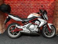 KAWASAKI ER6N ABS WITH ONLY 3763 MILES PLUS EXTRAS