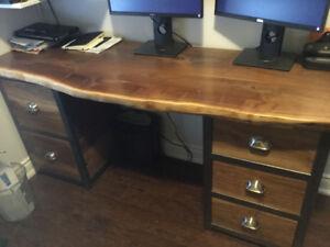 Hand made desk