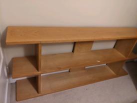 Lovely wooden shelving unit