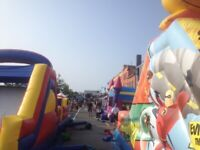 Bouncy castle birthday party festival events