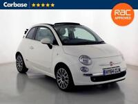 2014 FIAT 500 1.2 Lounge 2dr [Start Stop] Convertible