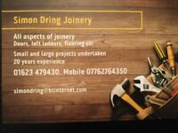 JOINERY AND LOCKSMITH SERVICES
