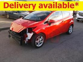 2015 Ford Fiesta Zetec 1.0 3dr DAMAGED REPAIRABLE SALVAGE