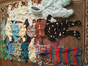 Boys 0-3months Sleepers & Snowsuit