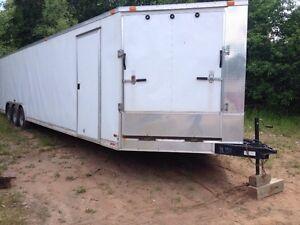 2012 Brandon Titan  37x8 enclosed trailer