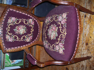 Old Upholstered Chair