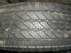 Michelin LT 245/70R17 M&S 10 ply rated