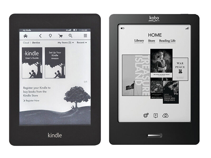 Review: Kindle vs. Kobo eReader