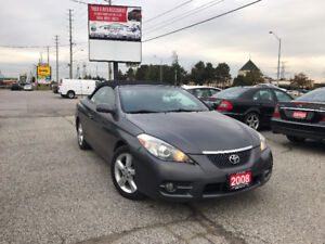 2008 Toyota Solara SLE Convertible, One Owner, Certified, Loaded