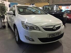 2011 61 Vauxhall Astra SE White Estate,Face Lift,Low Tax
