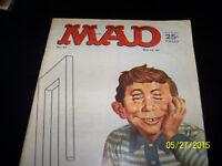 MAD - 3 magagines in VG condition..Mad # 93, #140, #166