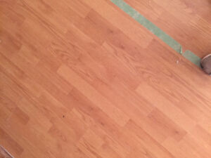 1100 sq ft Laminate flooring $400