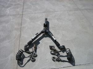 Vehicle Tow bar and  Brake BuddyAuxillary Braking System