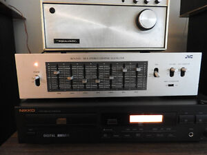 Vintage JVC SEA-20 Stereo 7 Bands Graphic Equalizer