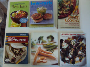 6 Low-Carb, High Protein, Fitness Cookbooks