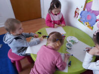 nanny/garderie/ halte-garderie (0 to 10 years old)