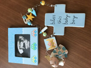 Set of 3 baby boy items