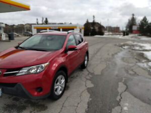 2015 Toyota RAV4 LE AWD Package B Lease Takeover 349$