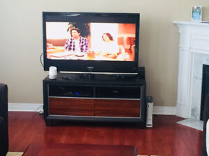 TV Stand and two towers