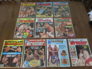 lot de revues de WRESTLING 1972-1980, DIVERS