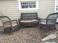 antique outdoor furniture available!