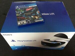 CASQUE PS VR condition A1 + JEU Démo - 290$