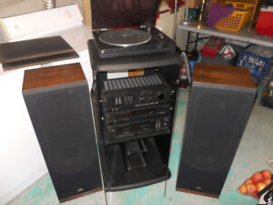 Sansui Stereo System with Turntable