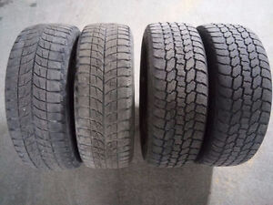4 Winter Tires with Rim 205 60 16