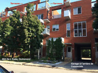 OUTREMONT CONDO PENTHOUSE + GARAGE + TERRASSE PRIVÉE