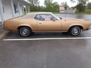 1971 Mercury Cougar Coupe (2 door)