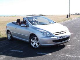 Peugeot 307 CC 2.0 16v Coupe Convertible**FANTASTIC CONDITION**LOW MILEAGE**FSH