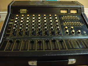 Yamaha  200,  PA Integrated Mixer