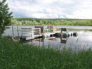 Chalet à louer Bord de l'eau tout inclus Canot Kayak Piscine SPA