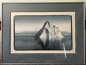 Gorgeous limited edition professional iceberg photograph