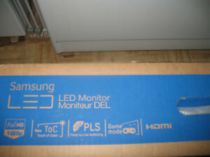 "24"" Samsung PLS Monitor NOS like new"
