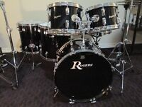 late 1960,s Vintage maple drum kit. Rogers brand. Sweet sounds