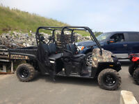 Brand new 2014 Polaris 800 Crew, $1400 off, ready for hunting