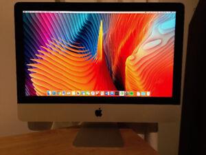 iMac 21,5po 4k retina, i5 3.1 GHz, 8Go Ram, 1Tb HDD, 2Go VRam
