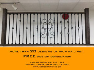 Railing Design Quick change, Affordable Price!!