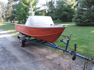 14' Springbok Boat and Trailer Project Boat Peterborough Peterborough Area image 1