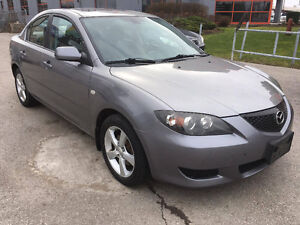 2006 Mazda Mazda3 GS Sedan |LOW KMS| CERTIFIED| WARRANTY|MINT!!