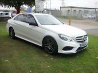 2015 65 MERCEDES-BENZ E CLASS 2.1 E220 BLUETEC AMG NIGHT EDITION 4D AUTO 174 BHP