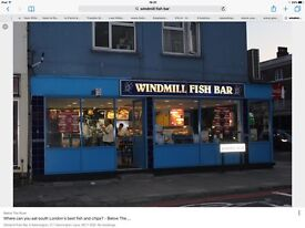 Staff wanted for Fish and chip shop