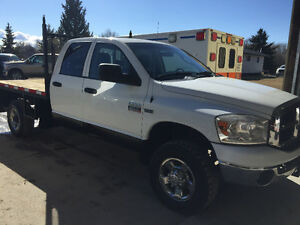 """REDUCED""""FLAT DECK"" 2007 Dodge  Ram 2500 SL QUAD CAB $11500.00"