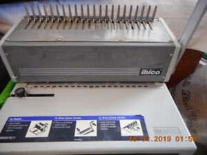 IBICO comb binding machine!  Office necessity!